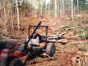 Remorque forestière  SKIDER pour VTT Saguenay Saguenay-Lac-Saint-Jean image 9