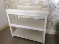 Lovely Little White Company Changing Table
