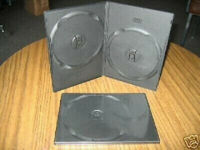 1 9mm Slim Double 2 Dvd Cases W Dvd Logo Movie Box Psd34logo Free Shipping
