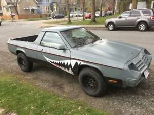 Dodge Rampage 1984 - $5500