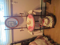 Antique Wash Basin and Pitcher Stand