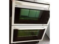 *****AEG AS NEW BUILT IN ELECTRIC DOUBLE OVEN INCLUDES 6 MONTHS GUARANTEE