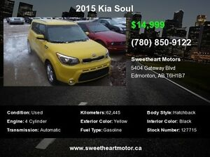 2015 Kia Soul LX 3000.00  CASH BACK