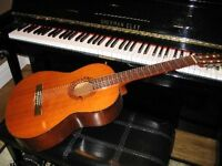 Private lessons are available for Classical Guitar or Piano.
