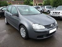 VOLXSWAGEN GOLF 2008 57 1.4 S 80 5 DOOR HATCHBACK MANUAL, LONG MOT 1895