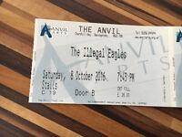 Illegal Eagles Ticket Basingstoke Anvil 8th Sat Oct