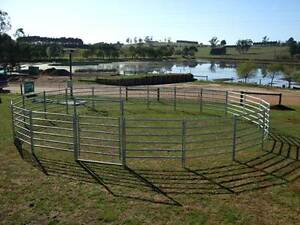Portable Steel Panels for Horse Cattle Pins Included Hatton Vale Lockyer Valley Preview