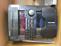 Sony Stereo 60 CD changer system