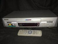 Panasonic VHS video recorder/player