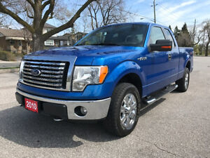 2010 Ford F-150 XLT 4X4 Extended Cab Pickup Truck