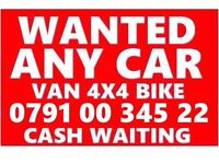 079100 34522 SELL YOUR CAR VAN FOR CASH BUY MY SCRAP WANTED O