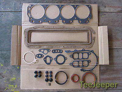 new Engine Gasket Overhaul Complete Set Jeep M151 A1 A2 for sale  Shipping to United States