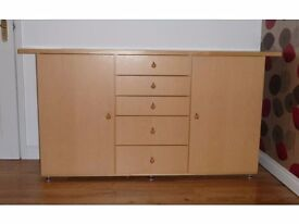 Five Drawer Sideboard