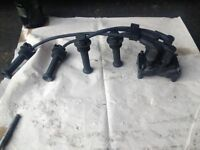 Ford Fiesta (02-08) COIL PACK leads ignition (breaking spares) fusion focus ka transit mk6
