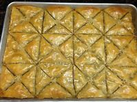 Baklava and boreak for your parties and events