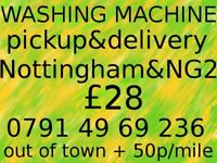 WASHING MACHINE pickup & delivery in Nottingham & NG2