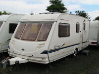 SPACIOUS 4-BERTH TOURER WITH END WASHROOM