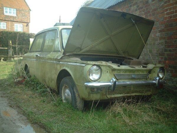 WANTED hillman imp