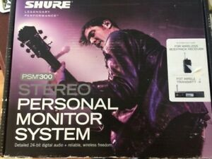Shure PSM 300 wireless personal monitor