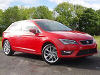 SEAT LEON ECOTSI FR TECHNOLOGY (red) 2017