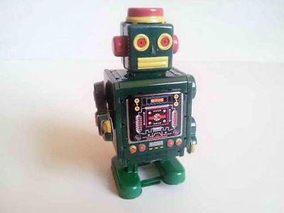 Blechspielzeug - Roboter grün  5490519