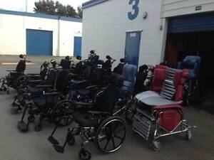 OVER 200 used WHEELCHAIRS, TILT, Lightweight. Manual,wheelchair