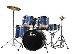 Pearl Drum Set - $225 - GREAT Deal for a Pearl - Extra Cymbal
