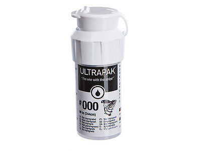 Ultrapak Dental Gingival Retraction Knitted Cord Size 000 Ultradent 137