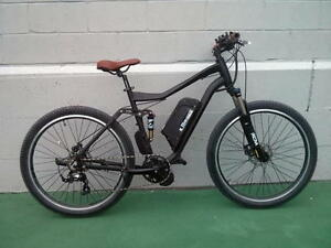 "27.5"" Full Suspension Electric Mountain Bike Mid Drive"