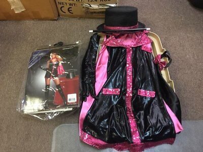 Dreamgirl MAGICIAN Women's Costume Size S Small Hot Sexy Hot Halloween pink
