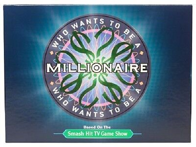 Who Wants To Be A Millionaire Game   Based On Popular Tv Game Show New