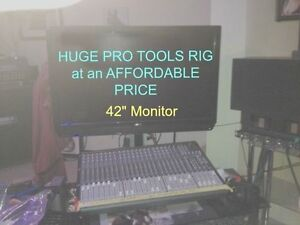 Complete Pro Tools HD 9 24 channel recording studio REDUCED