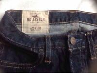 Hollister ladies trousers jeans size 29x30 used £5