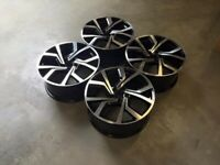 "18 19"" Inch VW Clubsport Alloy Style Wheels VW Golf MK5 MK6 MK7 Audi A3 Seat Leon Caddy 5x112 GTI"