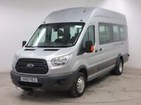 17 SEATER MINIBUS AVAILABLE TO HIRE WITH DRIVER FOR AIRPORTS & ANY DESTINATION-ABC TRAVEL 9696969