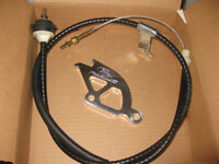 1999 - 2004 Mustang GT Ford Racing Clutch cable and Quadrant Set