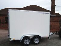 New blueline 8x5 box van trailer 1700kg