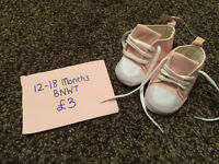 Girls shoes - brand new with tags - 12 to 18 months