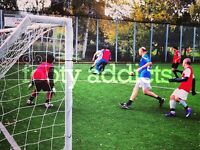 Sunday football in North London needs players. Come play with us