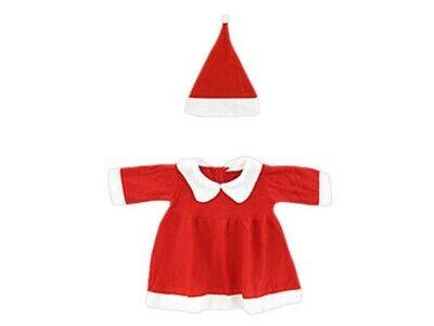 ihnachtskleid für Mädchen Baby 2-tlg (Rot Weihnachten Kleid Für Mädchen)