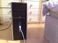 HP COMPAQ 8100 ELITE-I7-455GB-4GB-WIN 7 PRO