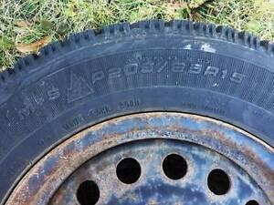 Mounted Goodyear Nordic 205/65R15 - $225 West Island Greater Montréal image 1