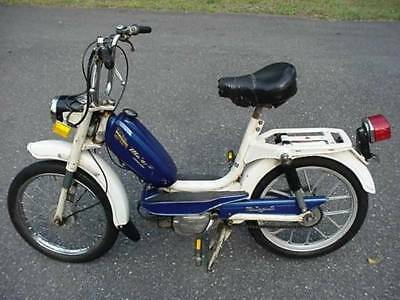 1977 MALAGUTI MOPED SCOOTER POCKET MINI BIKE CHOPPER ELECTRIC SCOOTER GO KART