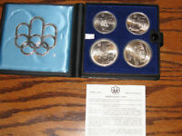 1976 Silver Prestige Uncirculated Olympic Coin Set - Series 1