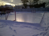 OUTDOOR HOCKEY ICE RINK TARP Blowout!! 17¢ per sq/ft!!!