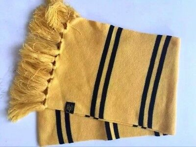 Costume Harry Potter Hufflepuff Cosplay Scarves Warm Knit Scarf Wraps Authentic - Authentic Harry Potter Costumes