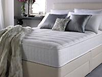 Brand new sealed - Silentnight Essentials Luxury pocket sprung matress & 4 drawer divan base. Double