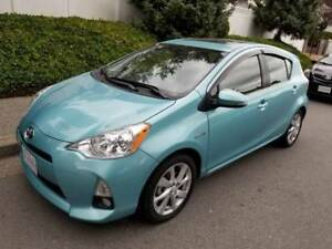 2012 Toyota Prius C Hybrid, low mileage only 62000 kms