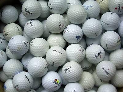 150 Golfbälle Titleist Mix AA Lakeballs gebrauchte Bälle used golf balls ()