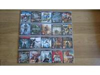 """Reduced"" PS3 with 2 controllers and 20 games - most of them premium titles"